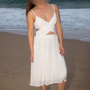 Leith White Dress Size Small